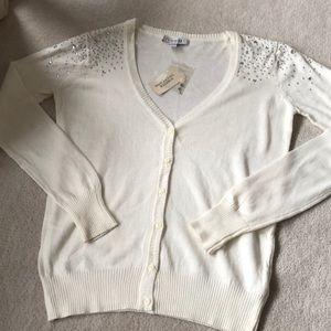 Sparkly forever 21 cardigan!